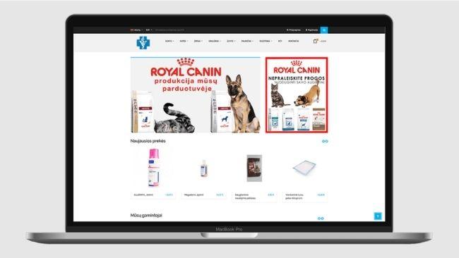 animal-medic-elektronine-parduotuve-prezentacija-ekraitis-projektas