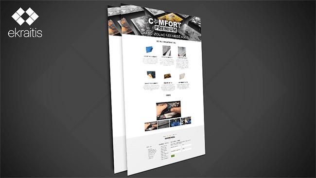 ComfortMat.lt Internetinės svetainės prezentacija