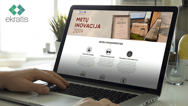 PandoraSmart.lt Internetinės svetainės prezentacija